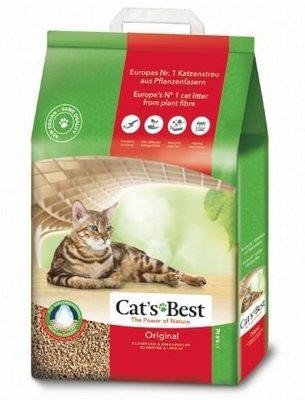 【特價】✪第一便宜✪德國凱優 Cat's Best 凝結木屑砂 紅標 40L/ 17.2kg (一筆宅配限一包) 宜蘭縣