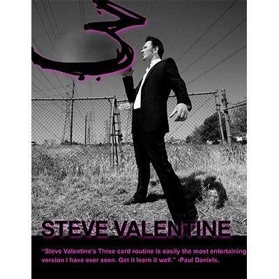 【意凡魔術小舖】3 Card Routine by Steve Valentine 三張牌魔術流程