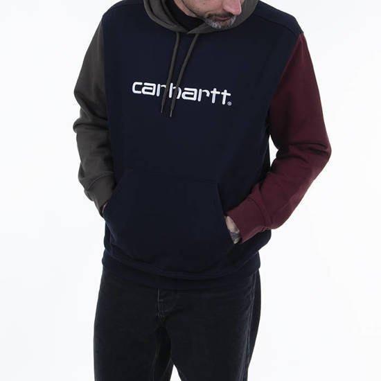 【紐約范特西】現貨 Carhartt WIP Hooded Tricol Sweat NAVY I028353