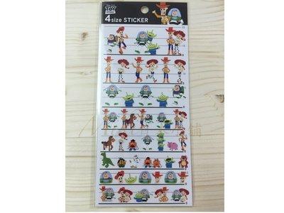 *Miki日本小舖*日本迪士尼 玩具總動員 造型貼紙 日本製