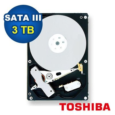 TOSHIBA 3.5吋 3TB 桌上...