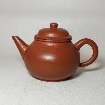珍藏早期宜興紫砂壺,荊溪惠孟臣製。水平壺。7孔。100CC。