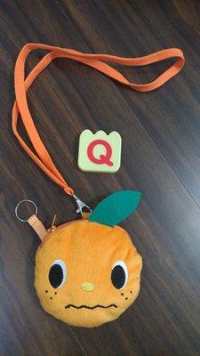 近全新-山葉音樂教室--正版yamaha噗噗嚕-幼兒幼童可愛橘色小側背包/可掛式小零錢包-禮物