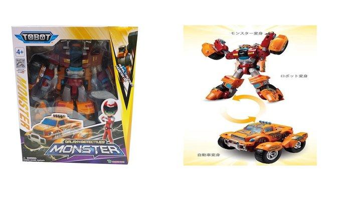佳佳玩具 ---- 正版授權 TOBOT 機器戰士 MONSTER  變型機器人【053092521】