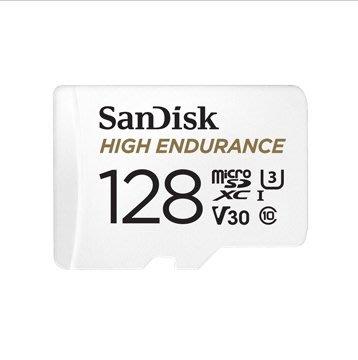 【EC數位】SanDisk 高耐久度 影片監控 專用 microSDXC UHS-1 記憶卡 128GB 公司貨
