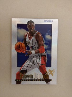 1996-97 E-X2000 Credentials #25 Hakeem Olajuwon