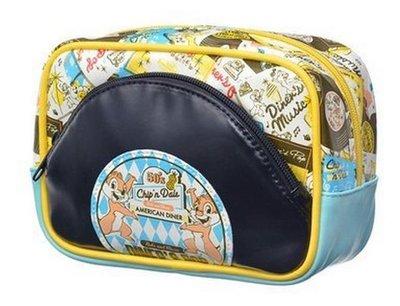 鼎飛臻坊 迪士尼  CHIP&DALE 奇奇&蒂蒂 DINER'S POP 可愛造型錢包 日本正版