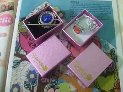 ☆創意小物店☆幸運草飾品盒/戒指盒/項...