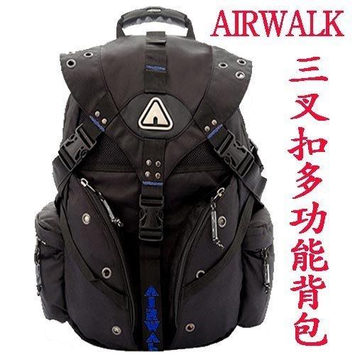 《補貨中缺貨葳爾登》美國AIRWALK休閒包登山包旅行袋,後背包,電腦包側背包露營包,登山背包71050深藍色