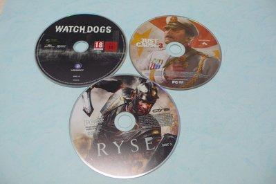 紫色小館76-4-----RYSE{3]  JUST CAUSE3{3}  WATCH DOGS
