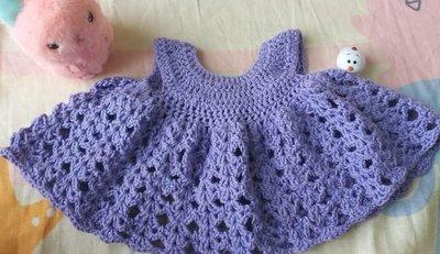 全手織BB裙 Baby dress