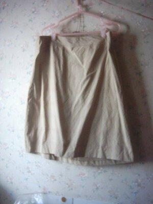 ~二手裙出清~全新 SINGLE NOBLE 獨身貴族 咖啡色格子短裙[夏季] XL (女)