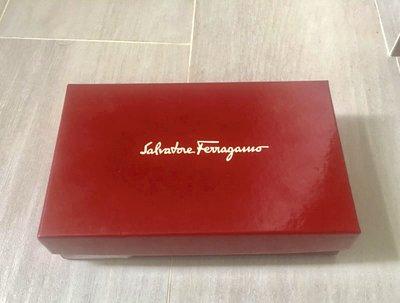 全新【Salvatore Ferragam】原裝銀包錢包紙盒wallet paper butter paper連牛油紙