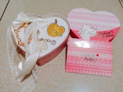 幸運草小舖♥ Hello kitty 粉紅小天使絕版悠遊卡.吊飾