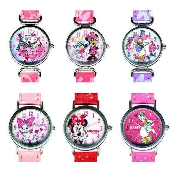 熱銷優惠【散步東京】日本購回 ☆ 現貨│ Disney 迪士尼兒童手錶 瑪莉貓 米妮 黛西 可超取/刷卡/自取