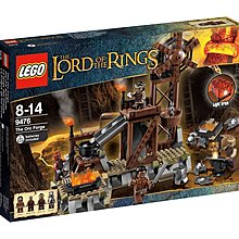 Lego 9476 the orc forge