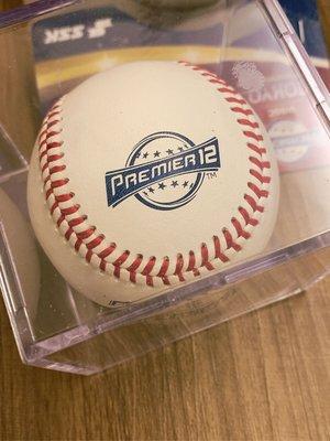 2019 世界棒球12強全新真皮SSK比賽用球 ~ 2020東京奧運資格賽 ~ 附球框