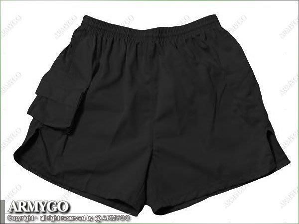 【ARMYGO】國軍黑色短褲