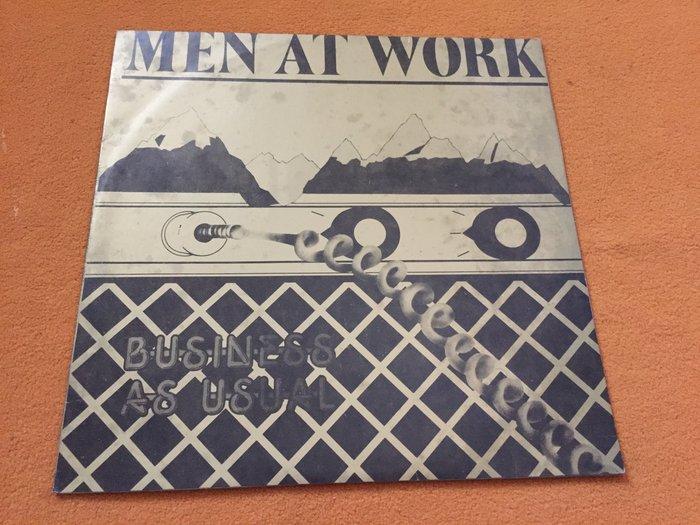 【杜比唱片】黑膠唱片 ~  MEN AT WORK   //  CATCH A STAR   台版 *** LP ***
