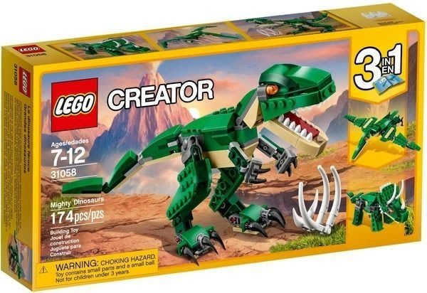 【W先生】LEGO 樂高 積木 CREATOR 創意系列 巨型恐龍 31058