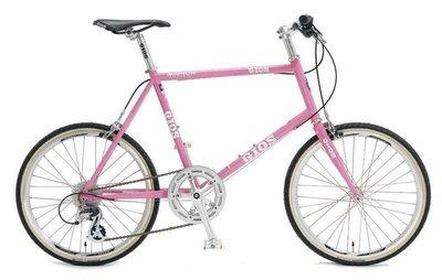 速度公園 義大利經典 GIOS MIGNON 鋼管小徑車 粉紅色 總代理公司貨