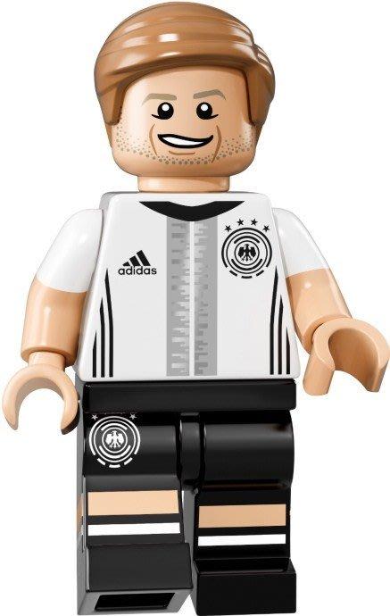 【LEGO 樂高】益智玩具 積木/ DFB 德國足球隊 人偶系列 71014   單一人偶: Reus 背號:21號