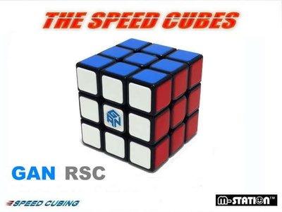 """M-STATION"""" RS3.GAN RSC專業速解3×3×3魔術方塊""""(比賽專用款)送解答、 油、 底座!"""