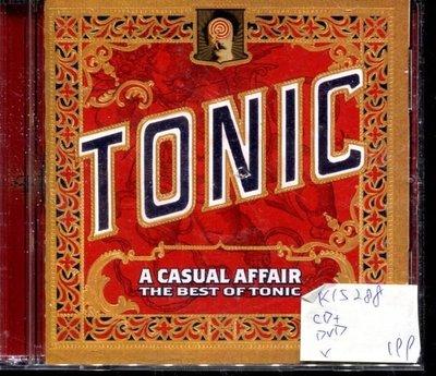 *真音樂* TONIC / A CASUAL AFFAIR CD+DVD 二手 K15288 (封面底破)