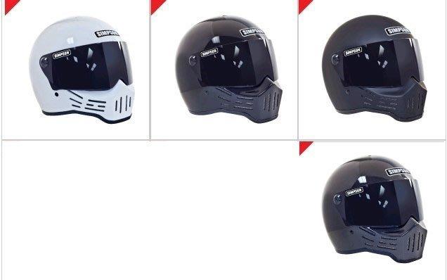 (I LOVE樂多)USA SIMPSON M30 辛普森安全帽 clubstyle moto3 山車帽