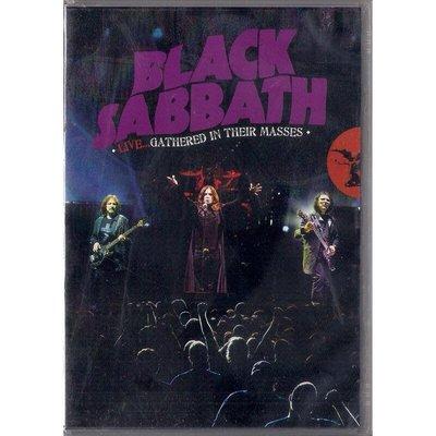 【全新未拆,免競標】Black Sabbath 黑色安息日:Gathered in Their Masses DVD