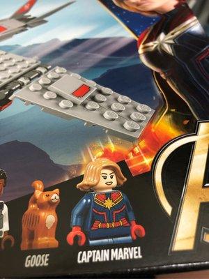 原裝正版Marvel LEGO 76127 Captain Marvel