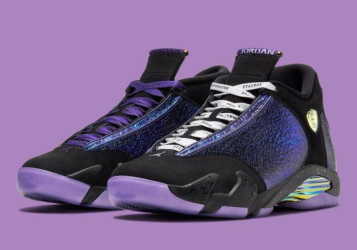 【紐約范特西】預購 AIR Jordan 14 Retro Doernbecher CV2469-001 雙色鞋帶