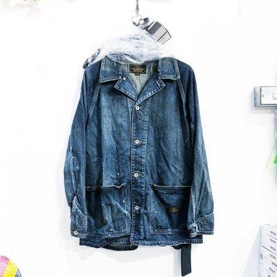 【希望商店】【✔寄賣商品】NEIGHBORHOOD SAVAGE S.CC. / C-JKT 20SS 潑漆 牛仔 夾克