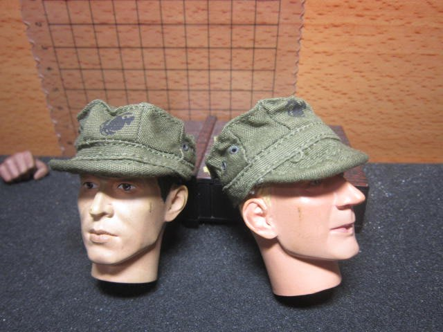 J1經理裝備 海軍陸戰隊1/6綠色野戰小帽一頂