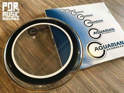 【搖滾玩家樂器】全新 公司貨 AQUARIAN SX-10 鼓皮 Studio-X Clear 10