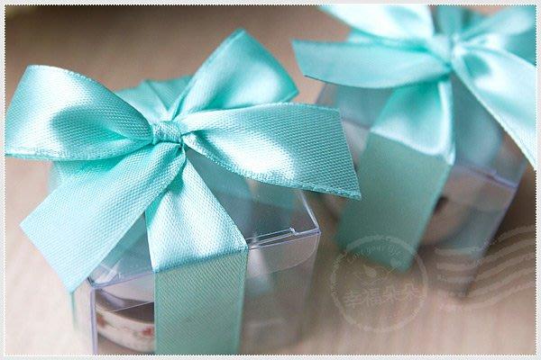 幸福朵朵【甜蜜蜜「透明盒裝」奧地利D'arbo果醬小禮盒(Tiffany緞帶)】-送客來店禮/活動禮贈品/婚禮小物批發