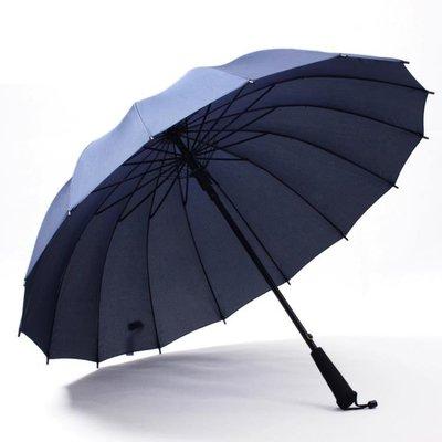 兩用晴雨傘長柄傘自動男女學生雙人傘戶外廣告傘定做LOGO印字 igo