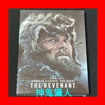【BD藍光】神鬼獵人:全紙盒幻彩磁貼限量鐵盒版(A款)The Revenant 鐵達尼號 瘋狂麥斯 主角 鳥人導演