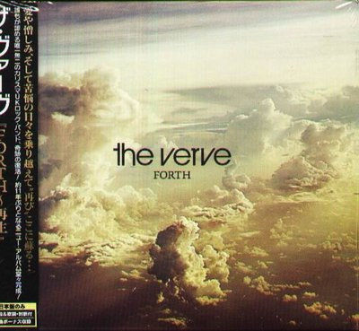 K - The Verve - Forth Special Edition -日版+2BONUS - NEW