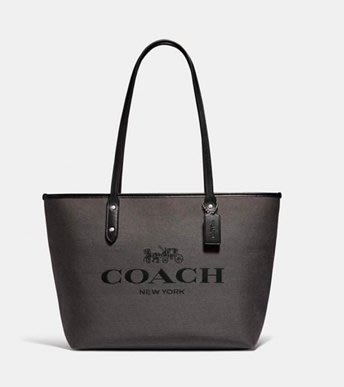 COACH Horse and Carriage Jacquard City Zip Tote 12/9止