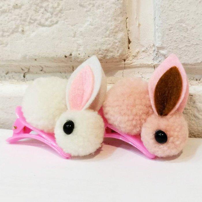 [靚妞兒小舖]小兔兔子兒童髮夾編夾兒童髮飾女童髮夾(小隻的)~全館599免運~