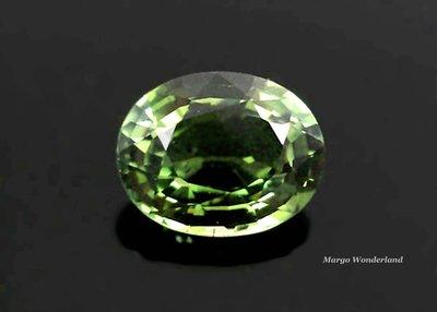 GA171 《電氣石Tourmaline》天然橄欖綠碧璽珠寶級用石 2.08ct《9x7》VVS