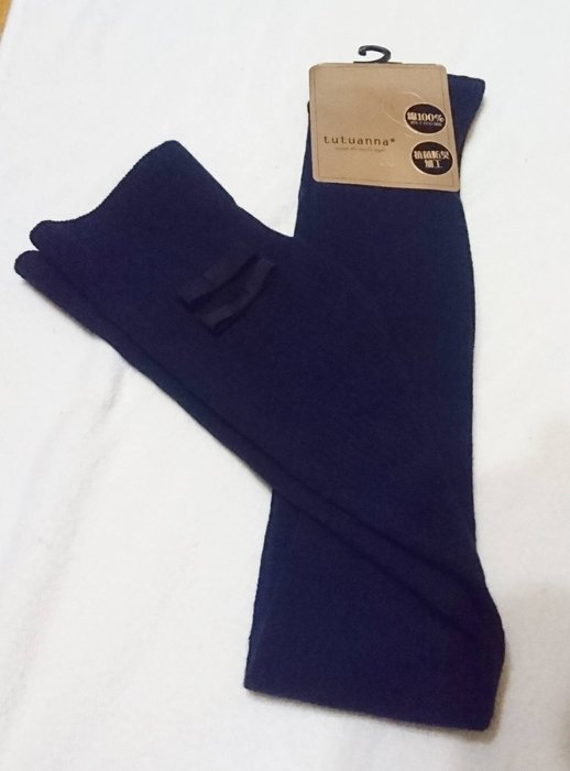 出清特賣 - 全新 - 日本購回 - 好看長統襪,舒服,棉100%