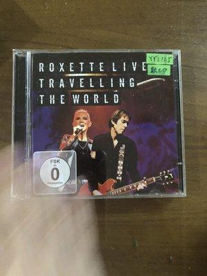 *還有唱片三館*ROXETTE / TRAVELLING DVD 二手 YY2125 (缺CD.需競標)