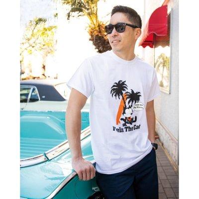 (I LOVE樂多)Felix Dream 菲力貓 短袖T-shirt[KGAZF453WH]