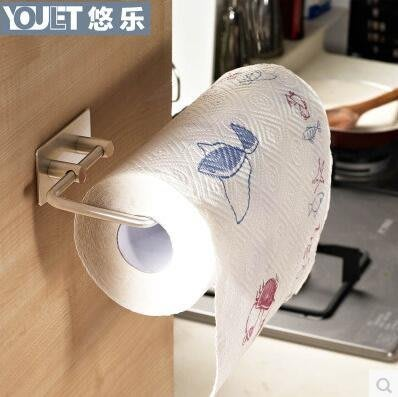【優上】德國悠樂 廚房紙巾架捲紙架 不銹鋼紙巾座抽紙架