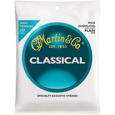 ☆ 唐尼樂器︵☆ 馬丁 Martin 古典吉他弦 M120 鍍銀