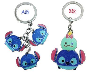 【卡漫迷】 史迪奇 鑰匙圈 亮粉 二款選一 ㊣版 造型 Stitch 吊飾環 醜ㄚ頭 星際寶貝 吊飾 扣環 掛飾 掛環
