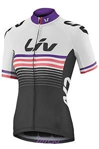 全新 2018新款 捷安特 GIANT Liv RACE DAY 女款短袖車衣 女性專業級短袖車衣 白