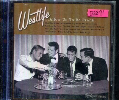 *還有唱片四館* WESTLIFE / ALLOW US TO BE FRANK 二手 D2871